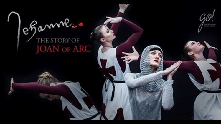 The amazing story of Joan of Arc comes to life in an original ballet performance