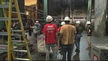 Tennessee Theatre transforms into Neverland