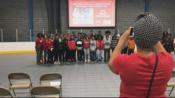 Local sorority encourages young men to dream big