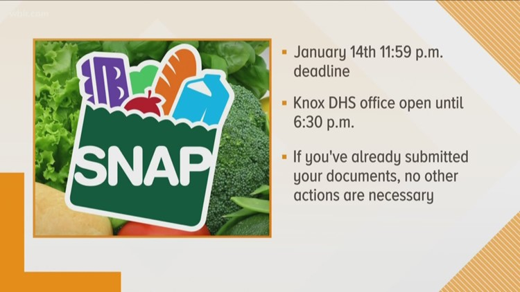 Tennessee SNAP Renewal Deadline Jan 14 Recipients Warned To Budget