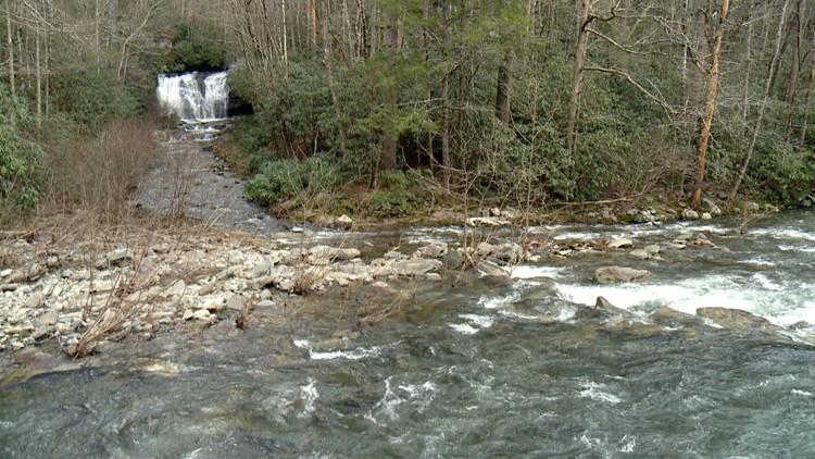 Meigs Falls Great Smoky Mountains National Park Smokies