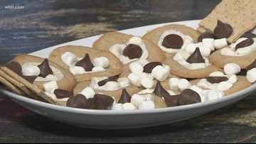 In the kitchen: S'mores thumbprint cookies