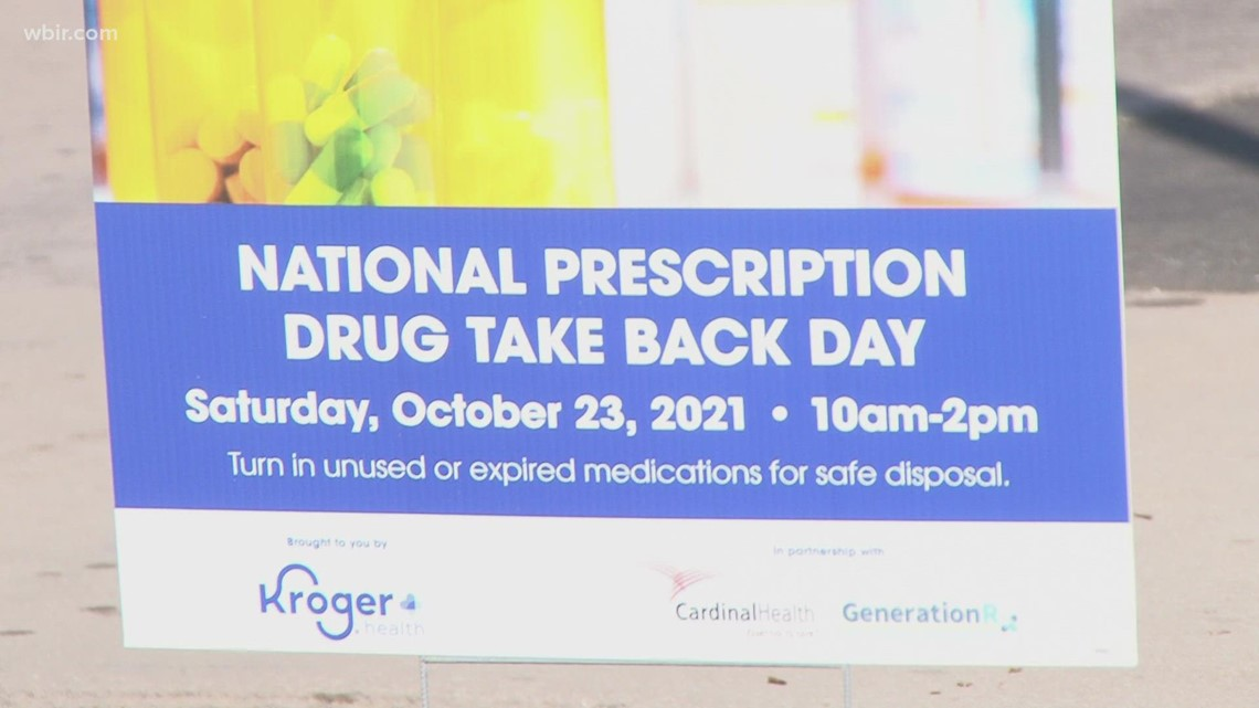Police collect 687 pounds of unwanted and unneeded medication during drug take-back event