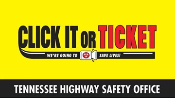 Wear your seat belt! Officers cracking down with summertime 'Click It or Ticket' campaign