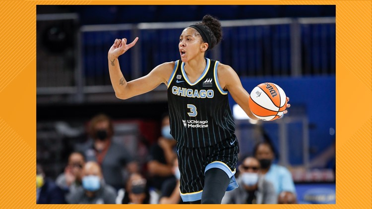 VFL Candace Parker leads Chicago Sky to WNBA Finals