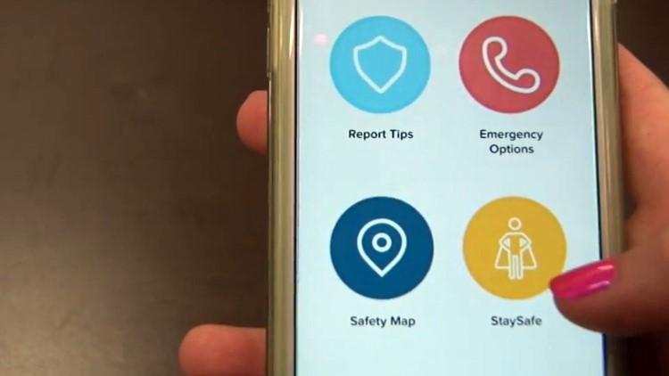LiveSafe App University of Tennessee Interface