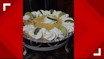 This easy Key Lime pie has only 5 ingredients!