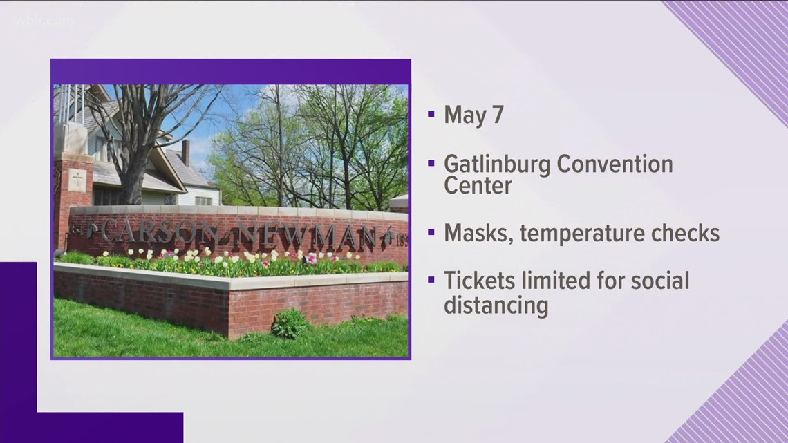 Carson-Newman University sets in-person commencement