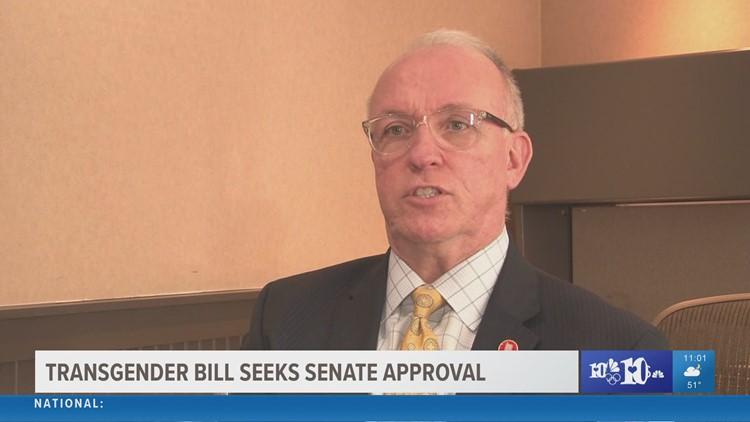 Bill barring transgender athletes seeks approval from Tennessee Senate
