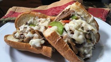 Philly Style Steak Deluxe Hot Sub
