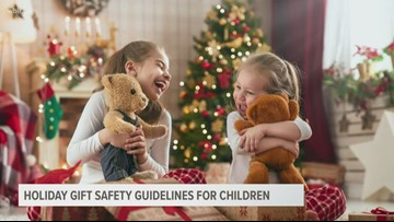 Holiday gift safety guidelines for children