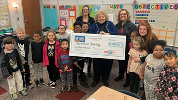 Cool Schools: Christenberry Elementary wins $1,000 from Food City
