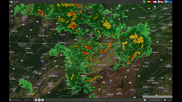 Power outages across East Tennessee after strong morning storms