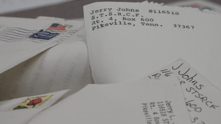 Jerry Johns' appeals