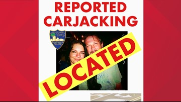 Florida deputies find Knoxville man, woman safe after reported carjacking
