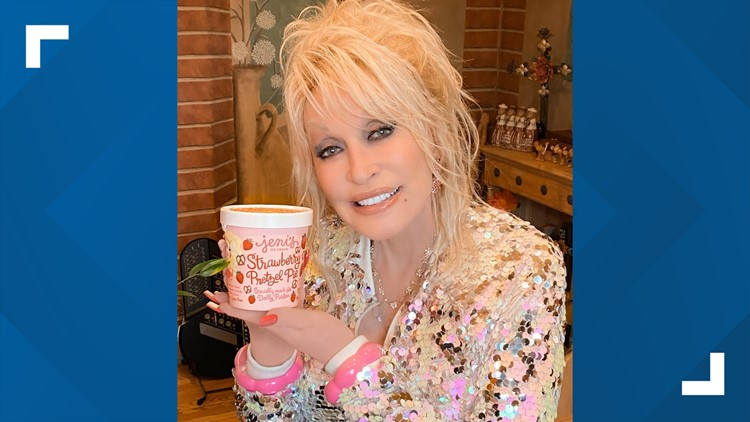 People trying to buy Dolly Parton-inspired ice cream crashes company website