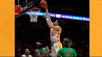 No. 21 Vols top Florida A&M 72-43 for 31st straight home win