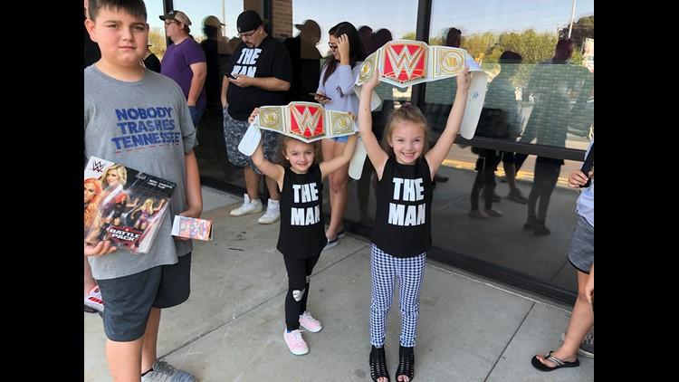 WWE meet and greet