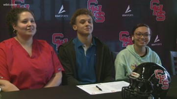 Five Central Seniors Sign at Signing Day Celebration
