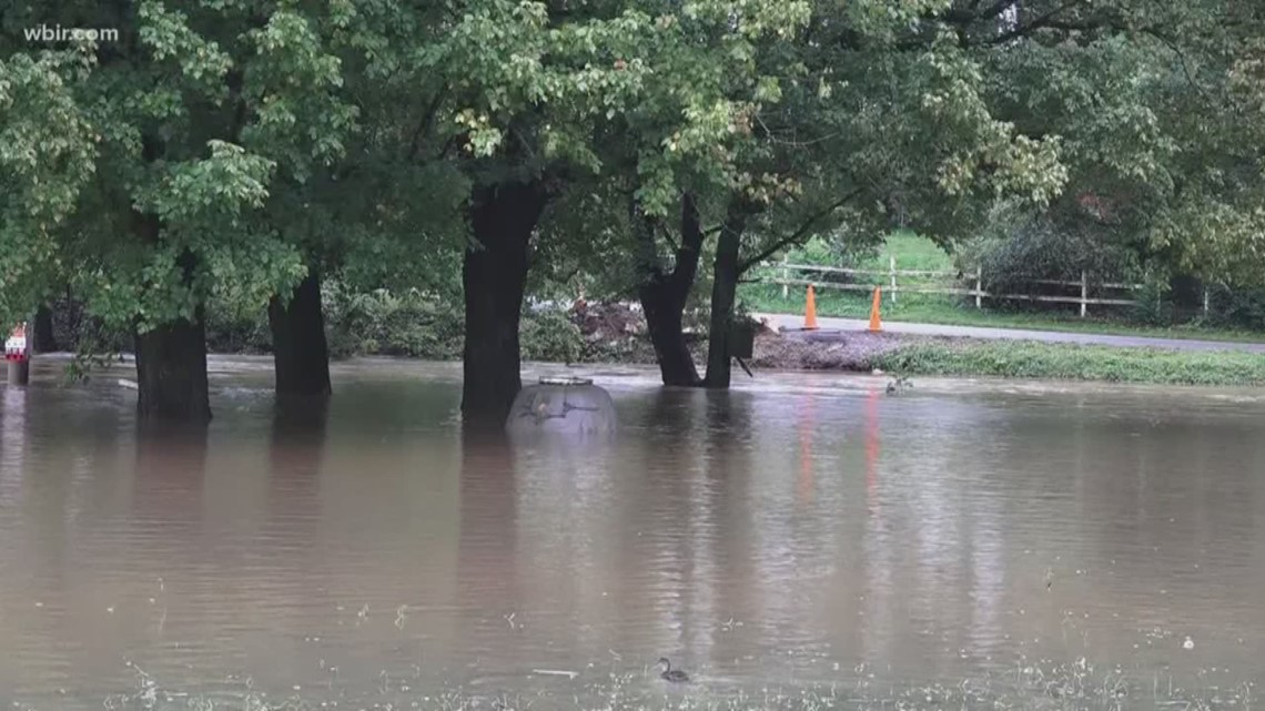 Gas Prices In Tennessee >> Heavy rain causes flooding in East Tennessee   wbir.com