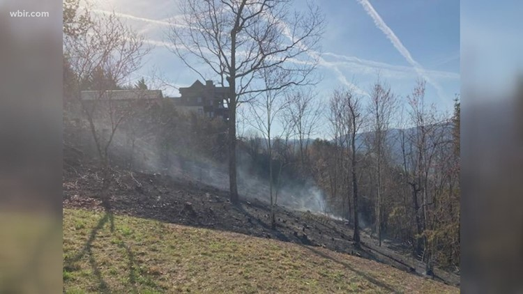 Crews continue to fight Cocke County wildfire