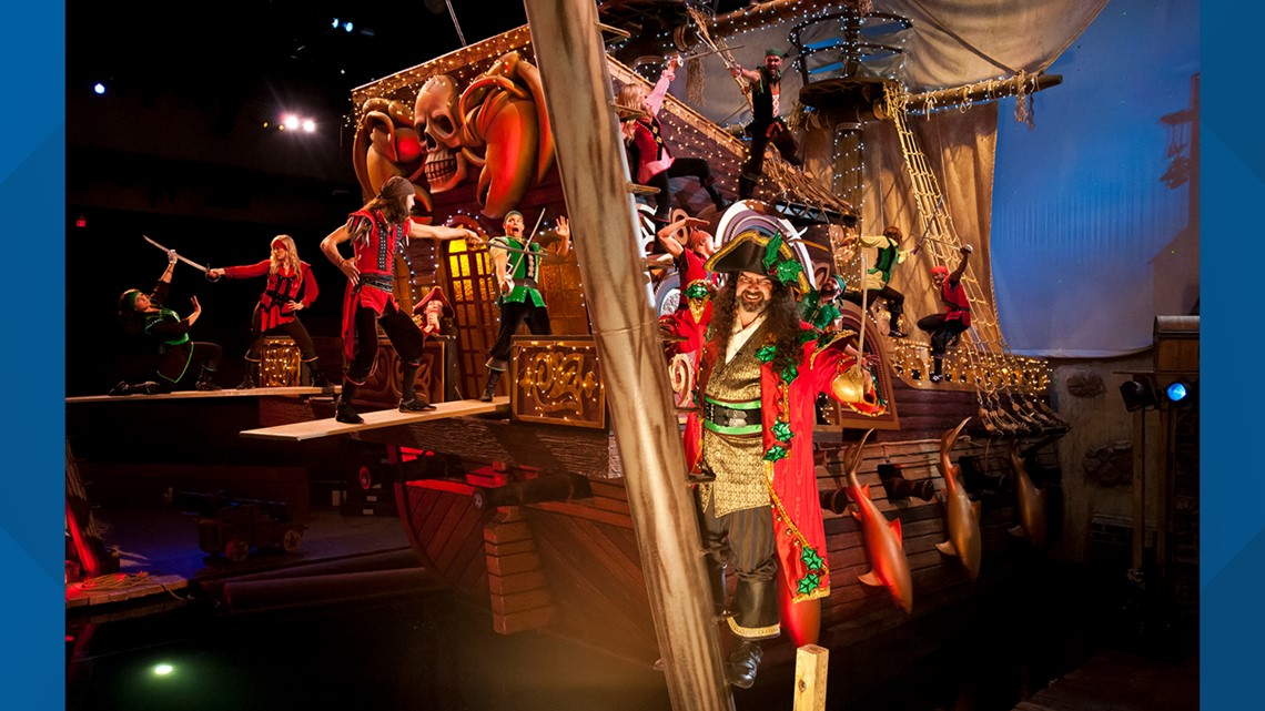 Yo ho ho ho: Pirates Voyage to premiere new holiday show