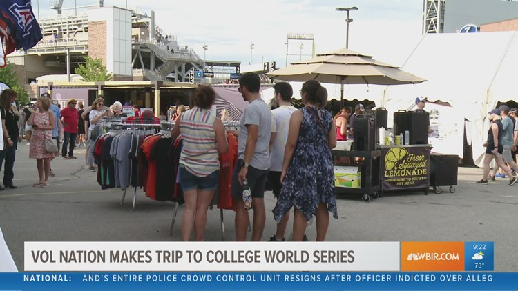 Vol fans gather in Omaha for College World Series