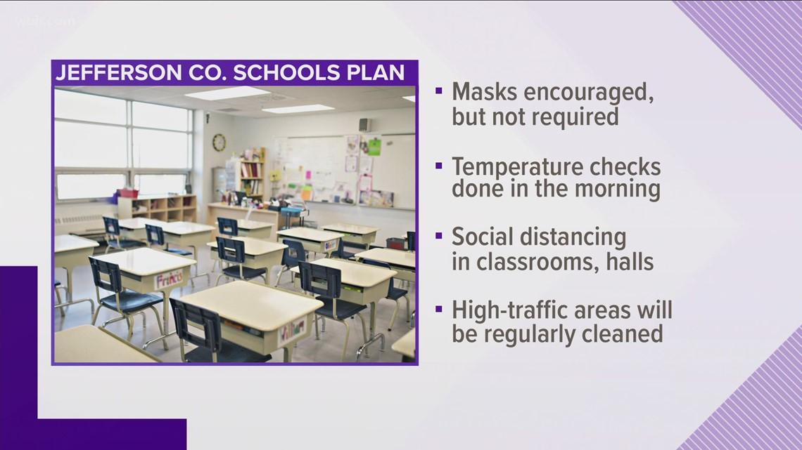 Jefferson County Schools releases COVID-19 plan