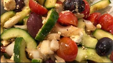 Joy's Tomato and Cucumber Salad