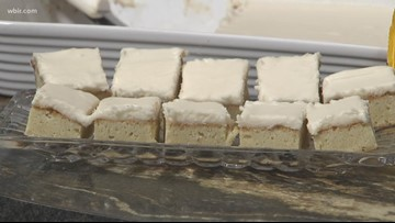 In the kitchen: White chocolate brownies