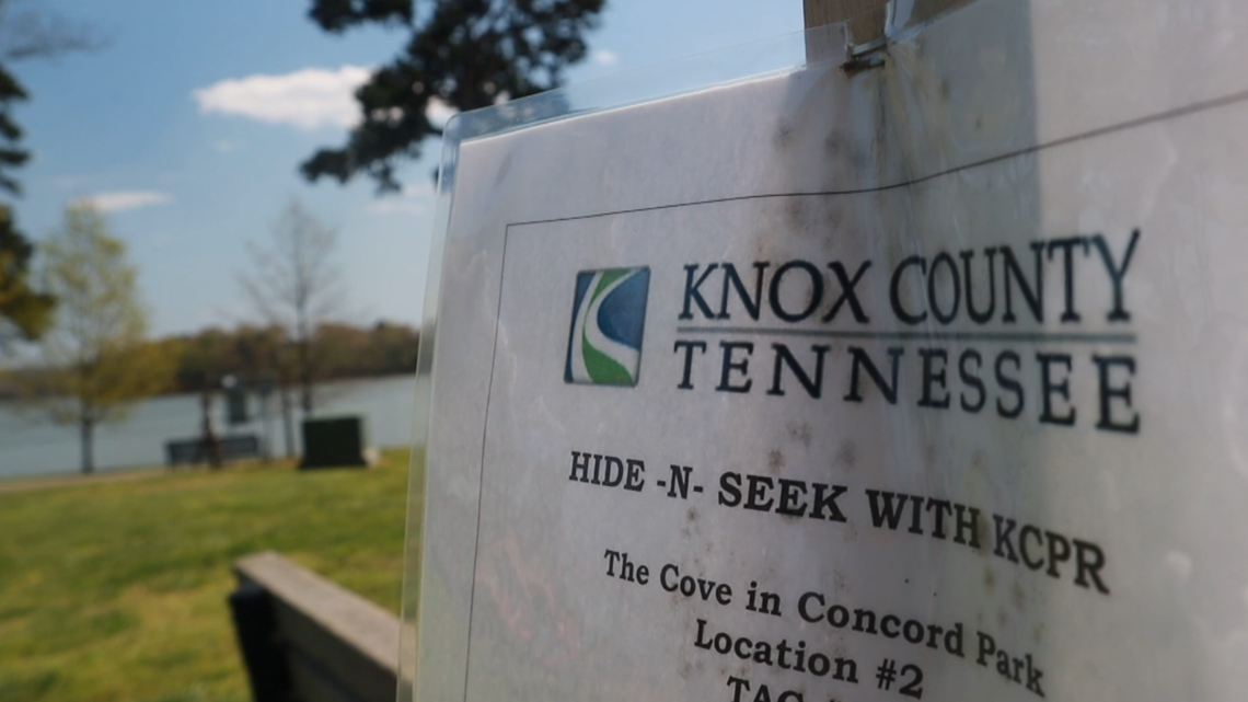 Knox County Parks Hide and Seek program promotes safe, healthy activities during pandemic