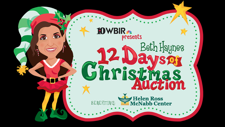 12 Days of Christmas Auction