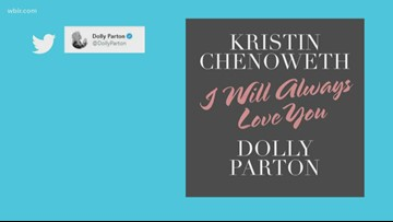 Dolly Parton sings 'I Will Always Love You' on Kristin Chenoweth's new album