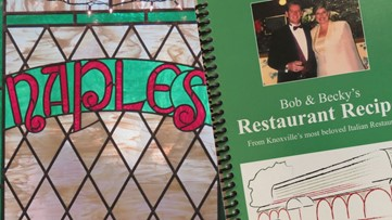 Former owners of Naples release restaurant's popular dishes in new cookbook
