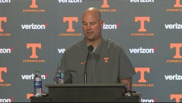 Jeremy Pruitt talks first spring practice in pads