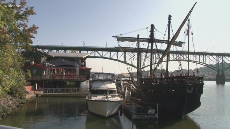 Replica of ship known for spotting 'New World' stops in Knoxville, opens for tours