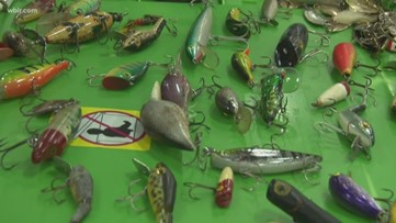 East Tennessee Fishing Show and Expo lures in fishermen