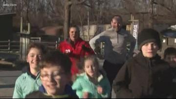 Covenant Kids run kicks of 26.2 miles of exercise for area children