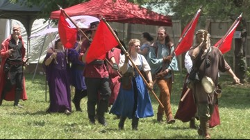 Tennessee Medieval Faire catapults Roane County economy