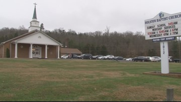 Church near earthquake epicenter reacts to rumbles