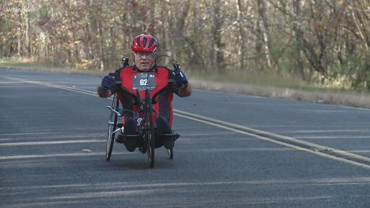 Hand cyclists complete virtual Knoxville Marathon