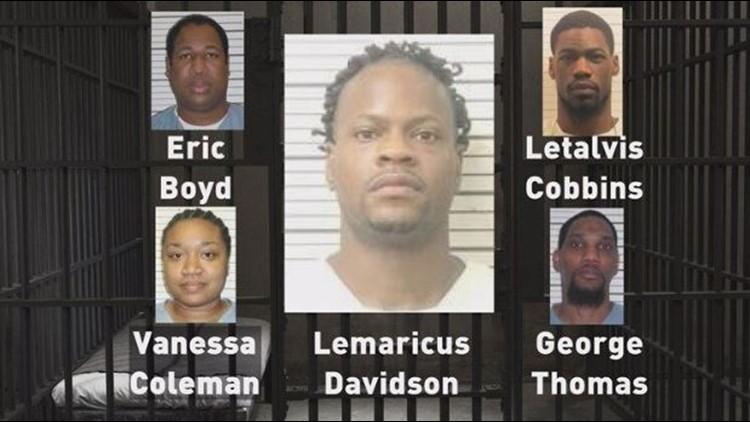 The five Christian-Newsom defendants