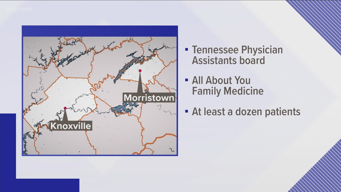 Morristown physician assistant's license suspended for having sexual relationships with patients