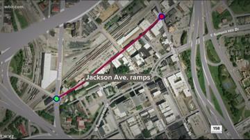 Jackson Avenue ramp construction starts Monday