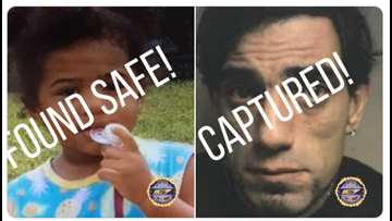 AMBER Alert over: Chattanooga toddler found safe, alleged kidnapper in custody thanks to tipster
