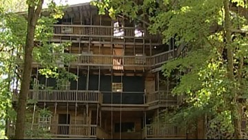 New owner says he won't tear down giant treehouse in Crossville