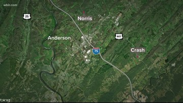 Person dies in crash on Norris Freeway