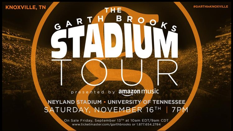 Garth Brooks Neyland