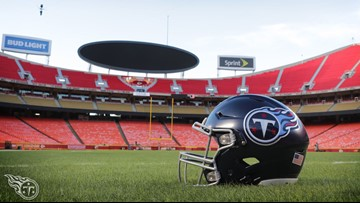 #TitanUP! Tennessee takes on Kansas City today with a trip to the Super Bowl on the line