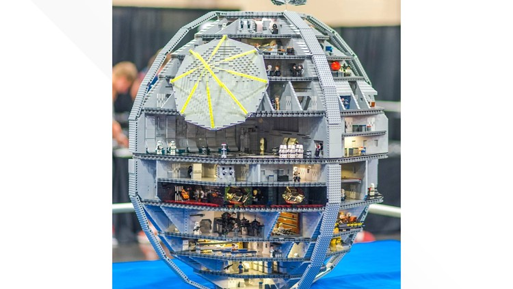 Several masterpieces will be on display at this years Knoxville LEGO convention